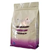 LifeWise Holistic Ultra Premium Grain Free Turkey Adult Dog Dry Food 2.5kg