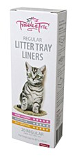 Trouble & Trix Cat Litter Tray Liners Large (20 Pack)