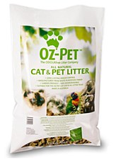 Oz Pet All Natural Cat and Pet Litter 15kg