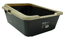 K9 Homes Deep Sided Black Litter Tray