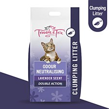 Trouble & Trix Lavender Scented 15 Litre Cat Litter