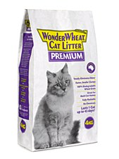 Wonder Wheat Premium Cat Litter 4kg
