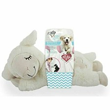 All For Paws Little Buddy Comfort Heart Beat Sheep Dog Toy