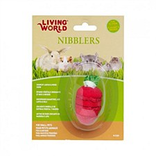 Living World Nibblers Loofah & Wood Chew Small Pet Treat