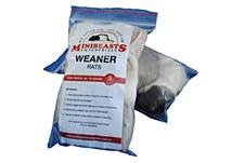 Minibeasts Rat Weaner 45-75g Single Frozen Reptile Food