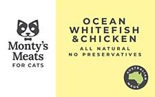 Montys Ocean Whitefish & Chicken 250g Wet Cat Food