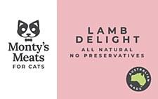 Montys Lamb Delight 250g Wet Cat Food