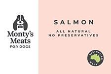 Montys Salmon Premium Mix 500g Wet Dog Food
