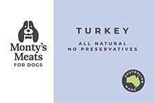 Montys Turkey Premium Mix 500g Wet Dog Food