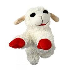 Multi Pet Lamb Chop Small Plush Dog Toy