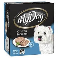 My Dog Chicken Supreme 100g X 12 Wet Dog Food