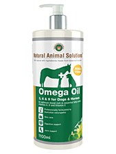 Natural Animal Solutions Omega Oil 3, 6 & 9 for Dogs 1100ml