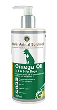 Natural Animal Solutions Omega Oil 3, 6 & 9 for Dogs 500ml