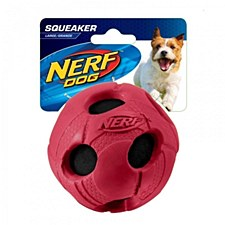 Nerf Tennis Ball Rubber Dog Toy Large Red