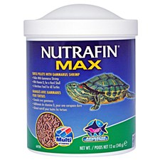 Nutrafin Max Turtle Pellets with Gammarus Shrimp 340g Reptile Food
