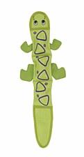 Outward Hound Fire Biterz Lizard with 3 squeakers Dog Toy