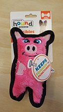 Outward Hound Invincible Mini Pig Dog Toy