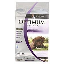 Optimum Puppy with Chicken 15kg Dry Dog Food