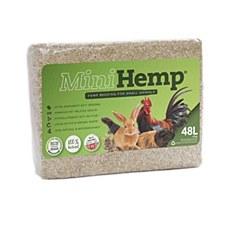MiniHemp Hemp Bedding for Small Animals 48 Litre