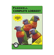 Passwell Lorikeet Complete 1kg Bird Food