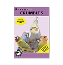 Passwell Small Bird Crumbles 1kg Bird Food