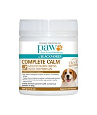 Paw Complete Calm Multivitamin Chews 300g