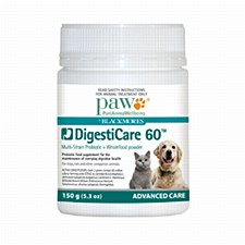 Paw Digesticare 60 Probiotic Powder for Dogs & Cats
