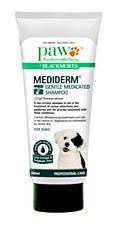 Paw Dog Shampoo Mediderm Gentle Medicated 200ml