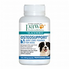 Paw Osteosupport Joint Care Capsules for Dogs 500mg (150 Pack)