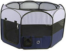 Bono Fido Dog Pen Soft Portable Large