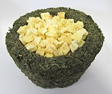 Peters Parsley Bowl with Apple 140g Small Pet Treat