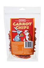 Peters Carrot Chips 200g Small Pet Treats