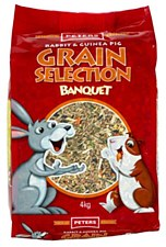 Peters Rabbit and Guinea Pig Grain Selection 4kg
