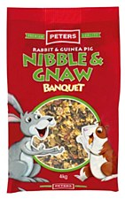 Peters Rabbit and Guinea Pig Nibble & Gnaw 4kg