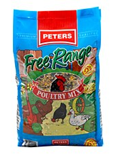 Peters Free Range Poultry Mix 20kg