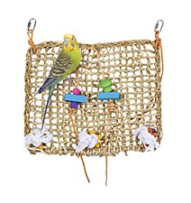 Penn Plax Natural Weave Climbing Exerciser Bird Toy