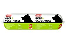 Prime Cooked Roll with Beef & Vegetables 3kg Wet Dog Food
