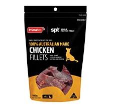 Prime Chicken Fillets Dog Treats 100g