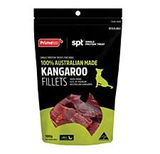Prime Kangaroo Fillets Dog Treats 100g