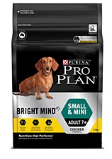 Pro Plan Bright Mind Small & Mini Adult 7+ 2.5kg Dry Dog Food