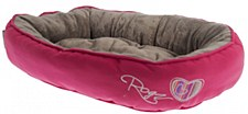 Rogz Snug Pod Candy Stripe Cat Bed
