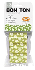 Bon Ton Biodegradable Dog Waste Bags Green (3 Pack)