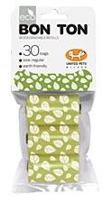 Bon Ton Biodegradable Dog Waste Bags Green (3 Pack)