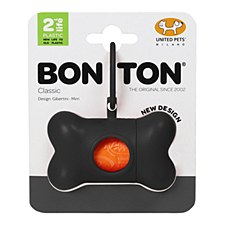 Bon Ton Classic Dog Waste Bag Dispenser Black