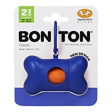 Bon Ton Classic Dog Waste Bag Dispenser Blue