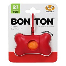 Bon Ton Classic Dog Waste Bag Dispenser Red