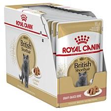 Royal Canin British Shorthair Adult 12x85g Wet Cat Food