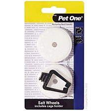 Pet One Salt Wheels 100g Small Pet Treats (2 Pack)