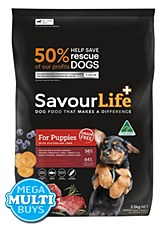Savourlife Grain Free For Puppies with Lamb Dry Dog Food 2.5kg