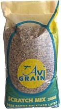 Avigrain Free Range Backyard Layer Scratch Mix 20kg Poultry Food